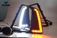 Vland автомобиль Стайлинг Аксессуары светодиодный фонарь для IX25 дневного света светодиодный свет Plug and Play дизайн