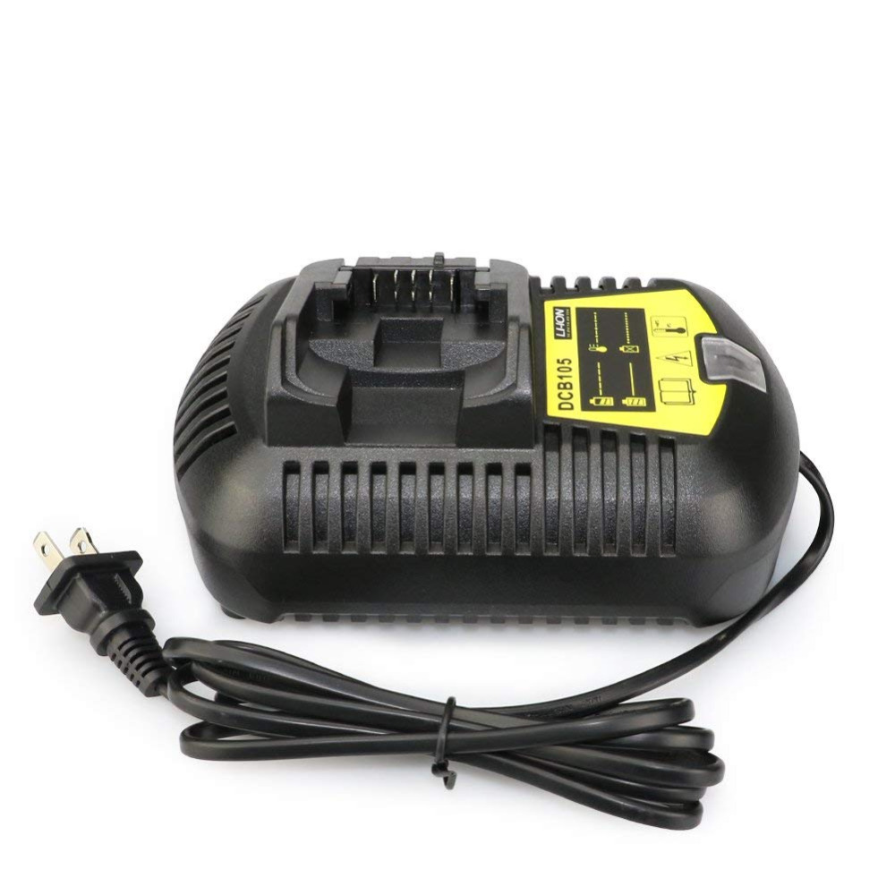 Melasta 12V MAX and 20-Volt MAX Li-Ion Battery Charger for Dewalt DCB101,DCB105,DCB107,DCB112,DCB115,100-240V with EU plug eu plug battery charger for samsung i9100 galaxy s2 100 240v