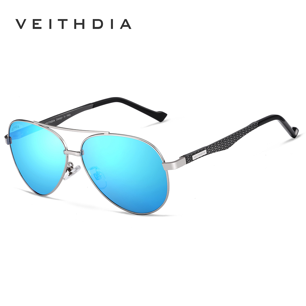 VEITHDIA Brand Designer Fashion Unisex Aluminum Men Sun Glasses Polarized Mirror Sunglasses For Women Men oculos de sol VT3850