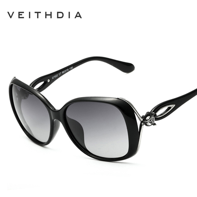 94bc8b1e09 2018 New VEITHDIA Vintage Sunglasses Women Polarized Lens Sun Glasses  Ladies Brand Designer gafas oculos de sol feminino VT7022
