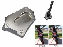 Aluminum Large Sidestand Foot Kickstand Extension Plate for BMW R1200GS Adv