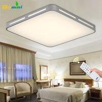 Moder Decorative LED Ceiling Lights Square Ceiling Lamp Remote Controller Fixtures 3Color Change For Living Room