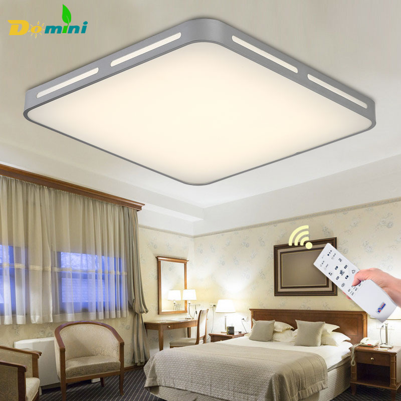 Moder Decorative LED Ceiling lights Square Ceiling Lamp Remote Controller Fixtures 3Color-change  For Living Room 15W18W Lamps
