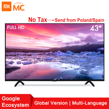 Xiao mi smart 4A 43 inches mi led full HD Android TV 8.0 4A 108 CM ultimate patchwall 1 Gb 8 GB Ultra-heldere LED Display Televisie(China)