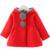 Crianças menina casacos clothing primavera orelha fina com capuz longo-manga casacos para as meninas 2017 nova primavera da chegada do bebê menina jaquetas