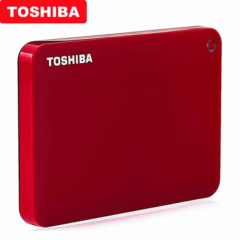 """100% توشيبا Canvio المتقدمة V9 USB 3.0 2.5 """"1 تيرا بايت 2 تيرا بايت 3 تيرا بايت HDD المحمولة قرص صلب خارجي القرص المحمول 2.5 لأجهزة الكمبيوتر المحمول الكمبيوتر"""