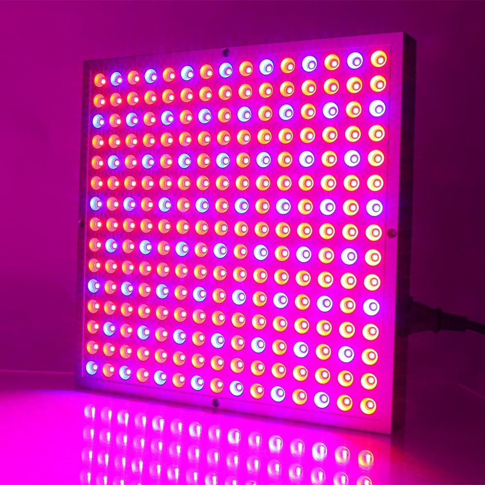 LED เติบโตไฟ 45 วัตต์ 165Red: 60 Blue พืชโคมไฟที่เพิ่มขึ้นสำหรับพืชในร่มไฮโดรโปนิดอกไม้ผลไม้ผัก Vegs แสง Fitolamp AC85 ~ 265 โวลต์