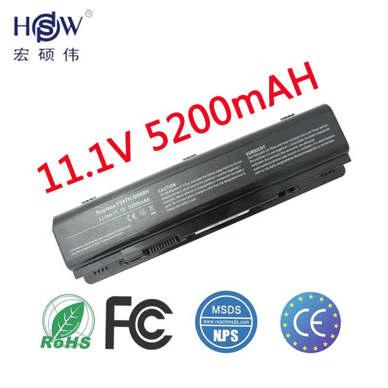 HSW laptop batteri för Dell Vostro 1014 1015 1088 A840 A860 för Inspiron 1410 F286H F287F F287H G066H G069H PP37L PP38L R998H