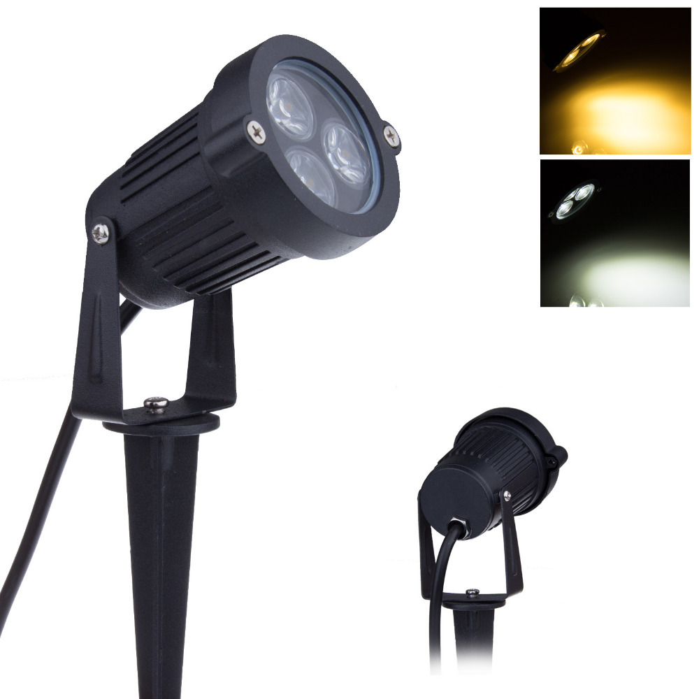 Buy 12v Led Garden Lights 3 3w Ip65 Waterproof Outdoor Spot Flood Lighting