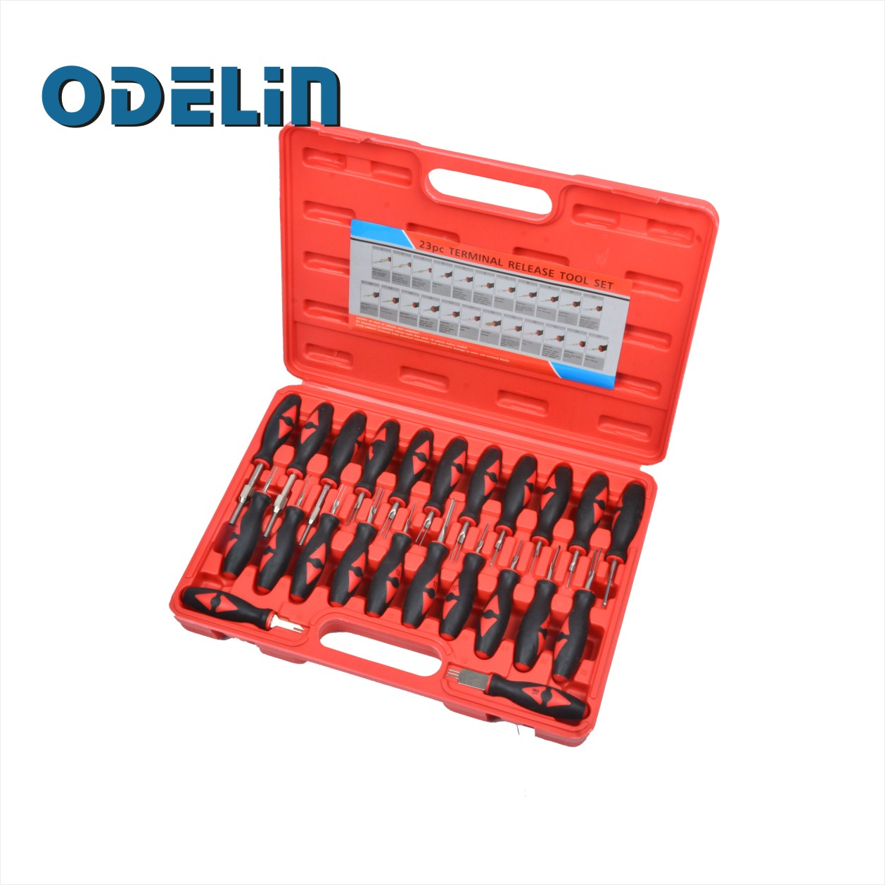23pcs Car Universal Terminal Release Removal Tools Set For BMW Ford VW Automotive Wiring Connector Crimp Pin Extractor