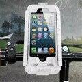 Suporte do telefone da bicicleta da bicicleta à prova d' água caso para iphone 7 7 plus 6 s Plus 5 5S SE Motocicleta Guiador Monte Suporte Hard Case