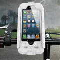 Waterproof Bicycle Bike Phone Holder Case for iPhone 7 7 Plus 6s Plus 5 5s SE Motorcycle Handlebar Mount Bracket Hard Case
