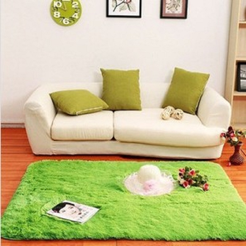 Home Decoration Solid Simple Modern Carpet Area Rugs Slip Resistant Yoga Floor Mats For Living Room