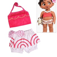 2018 New baby Girls bikini children swim wear Taddler girls bathing suits swimming Clothes Kid girl Moana Vaiana beachwear dress