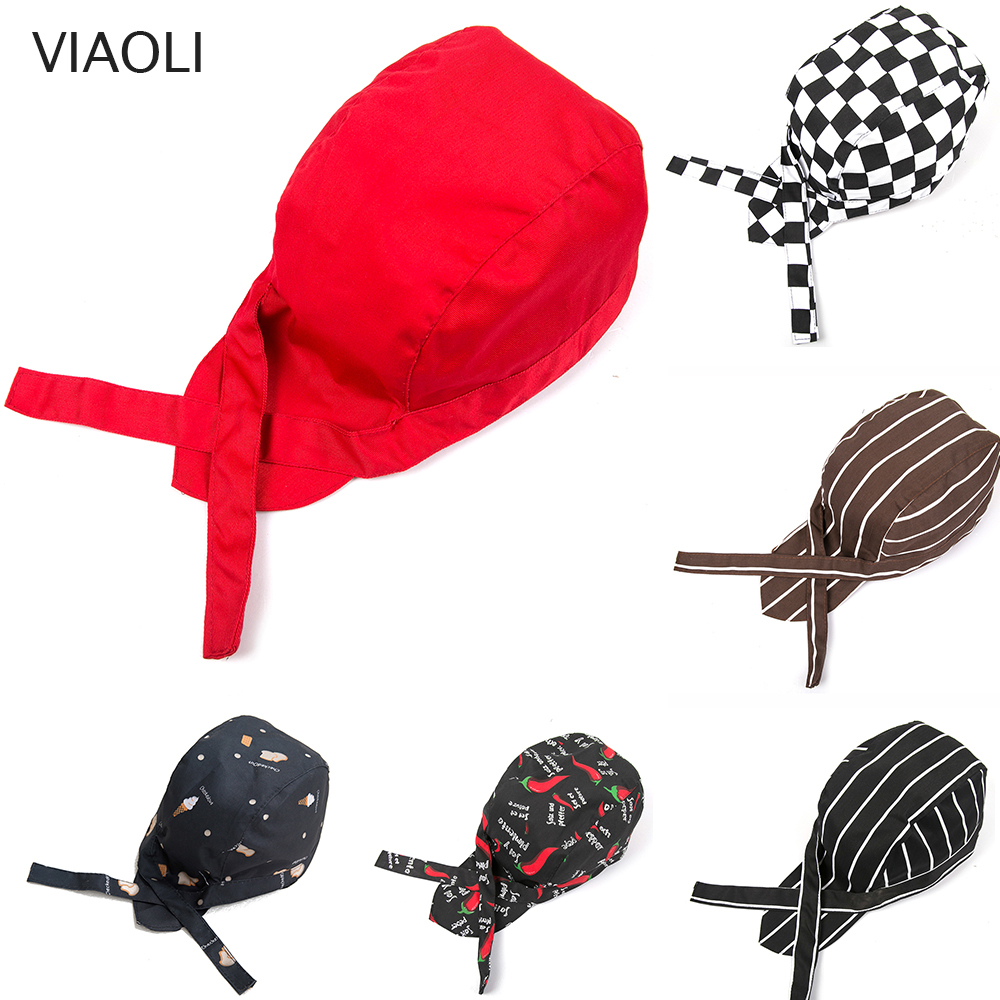 Wholesale 2019 New Pirate Hat For Top Chef Waiter Hats Hotel Restaurant Canteen Bakery Kitchen Work Wear Master Cook Forward Cap