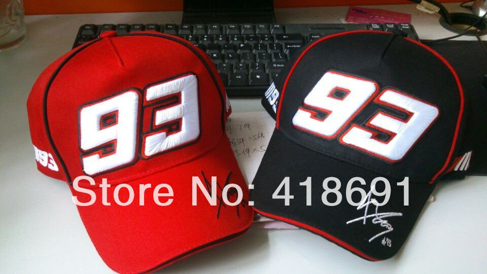 Wholesale 5pcs lot Marc Marquez 93 Baseball Embroidery Cap F1 Motorcycle  Factory Racing Cap Sports Baseball Speed Hat MOTO GP46 7cd39d9b41c