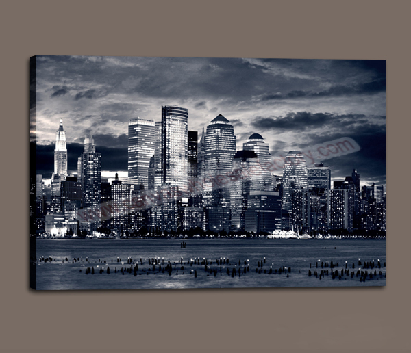 Wholesale Modern Wall Painting Print Art Decor Canvas of New York ...