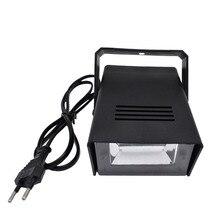 חם למכור מואר 3 W מנורת צינור אור הבמה DJ Strobe דיסקו המפלגה מועדון KTV הסטרובוסקופ צבע לבן שלב אפקט תאורה AC220 240V