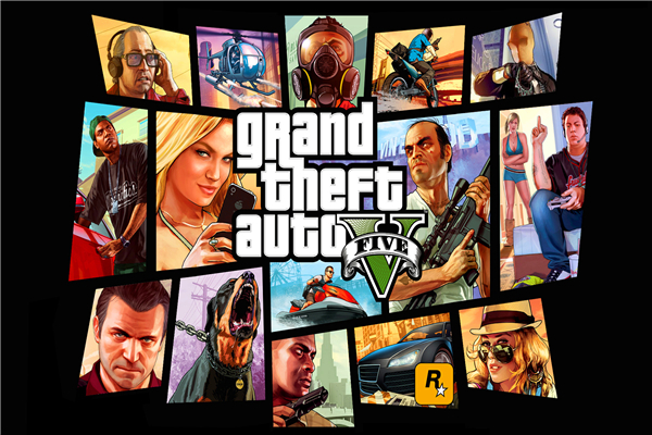 Custom Canvas Art Grand Theft Auto Poster GTA5 San Andreas Game Wallpaper Wall Stickers Mural Home Decoration 752 In From