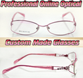 Women's love Optical Custom made optical lenses Reading glasses +1 +1.5 +2+2.5 +3 +3.5 +4 +4.5 +5 +5.5 +6