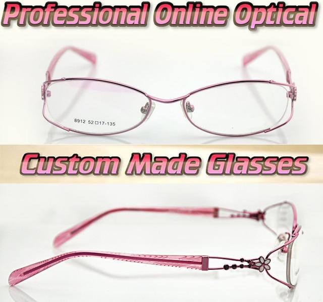 Women's love Optical Custom made optical lenses Reading glasses +1 +1.5 +2+2.5 +3 +3.5 +4 +4.5 +5 +5.5 +6