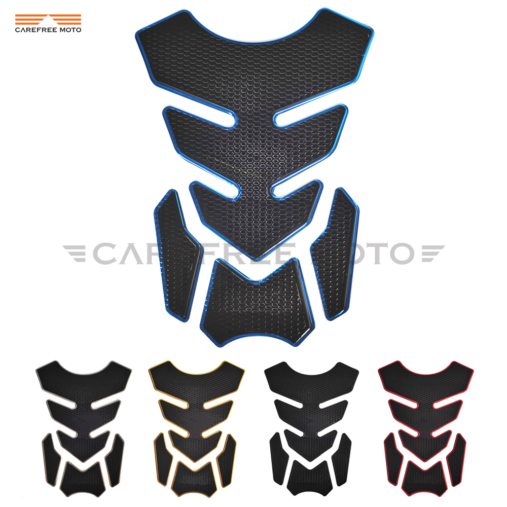Motorcycle Fuel Oil Tank Pad Decal Protector Cover Sticker Case For Honda Yamaha Kawasaki Suzuki Harley R1 R6 FZR250 XJR400 1200
