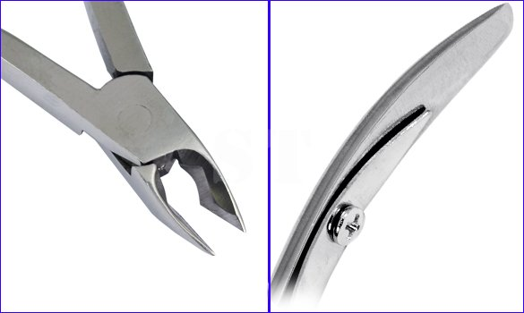 Stainless Steel Cuticle Nipper Manicure Cutter Trimmer Nail Care Tool Remover Clipper in Cuticle Scissors from Beauty Health