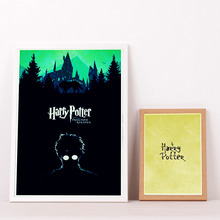 Harry Potter Minimalist Movie Art Posters And Prints Canvas Art Decorative Wall Pictures For Living Room Home Decor  Painting