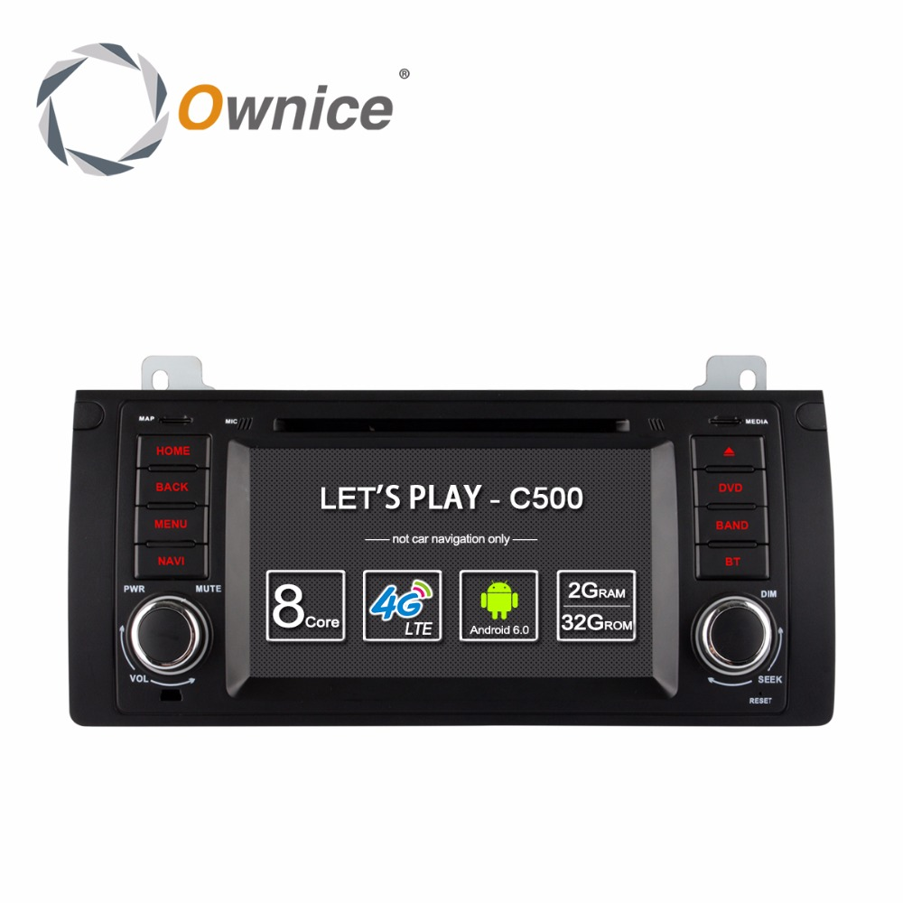 Android 6.0 8 Octa Core 2G RAM Car DVD Player For <font><b>bmw</b></font> 5 Series X5 E53 E39 <font><b>E38</b></font> M5 <font><b>Radio</b></font> GPS Navigation 4G SIM LTE WIFI image