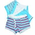 4 Pcs/lot Kids Underwear Colorful Teenager Underwear Soft Organic Cotton Boys Shorts Panties Baby Boy Boxer Children's 2-16y