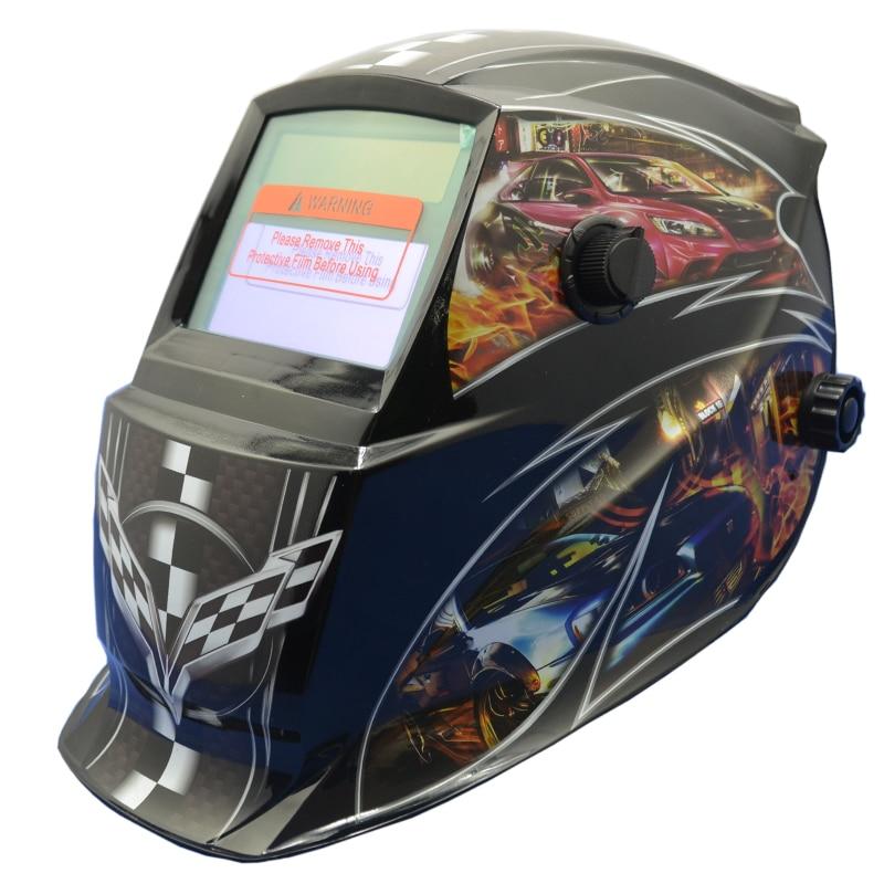 Auto Black Welder Darkening Battery Chameleon Skull Solar Mask Welding Mask And GY Solder Mask GD06 Custom Electronic PP 2233FF