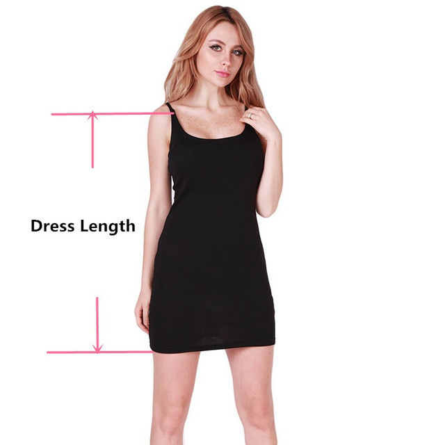 Women's Sexy Thin Strap Cotton Cocktail Dress