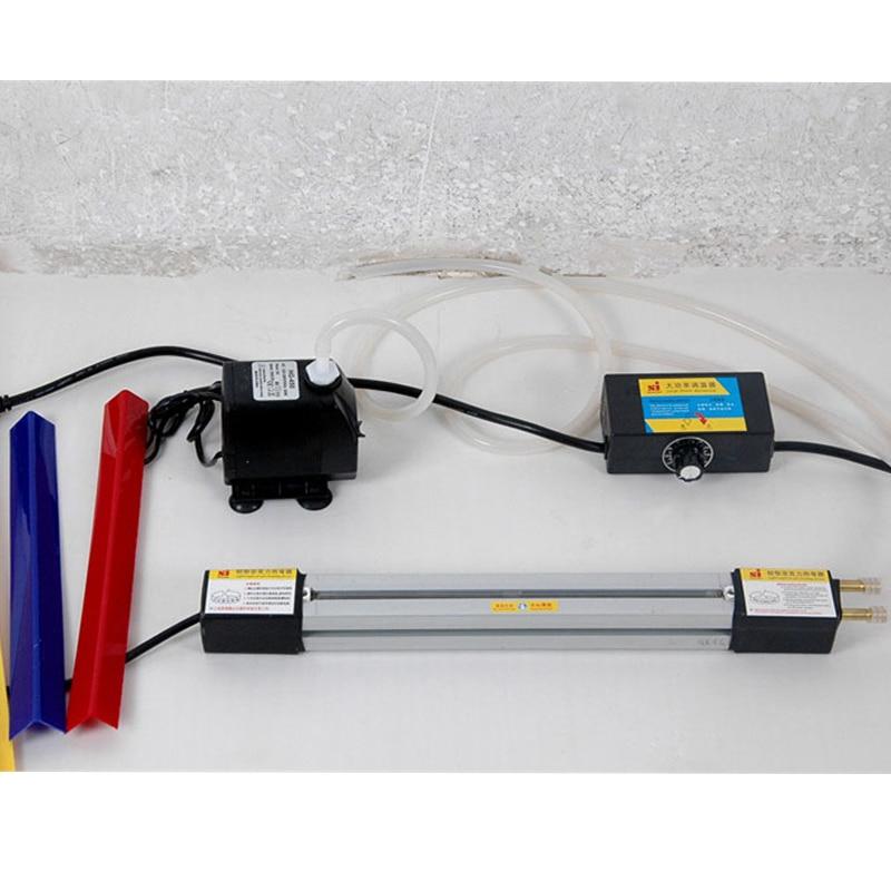 1 juego 49 '' (125 cm) Máquina de doblado en caliente de acrílico Plexiglás PVC Tablero de plástico Dispositivo de doblado Carteles publicitarios y caja de luz