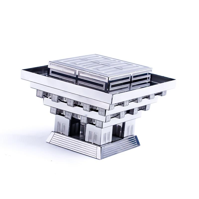 3D Metal Puzzle Model Kit DIY Stainless Steel Starship DOCTOR WHO TARDIS Animal Ship Adult Jigsaw DIY Jigsaw Manual Gift Toys 35