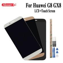 Alesser 100% Prüfung Für Huawei G8 GX8 RIO L01 RIO L02 RIO L03 LCD Display + Touch Screen Digitizer Assembly Ersatz + Werkzeug