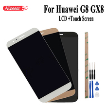 Alesser 100% Test Per Huawei G8 GX8 RIO L01 RIO L02 RIO L03 Display LCD + Touch Screen Digitizer Assembly di Ricambio + Strumento