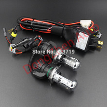 2015 new HID Bi-Xenon Bi Xenon H4 6000K Hi Lo Beam Light Bulbs 12V 35W Harness Controller For ford Audi vw and so on