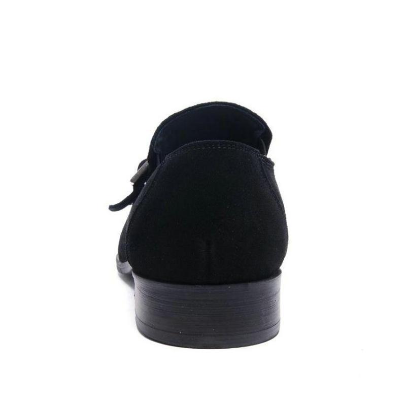 Genuino Pisos Moda Hombre Black Sapatos Brown 2017 Nubuck Oxford light Masculinos Cuero Zapatos Hombres Mocasines Nuevos Para HSx5Y