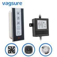 1set ( Controller+Transformer+Exhaust Fan+Speaker+Roof Light ) Shower Room Control Shower Spare Parts стоимость