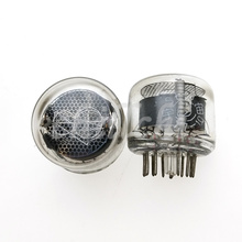 2 pces/SZ 8 tubo digital, tubo do fulgor do elétron, indicador QS30 1 da bobina de tesla