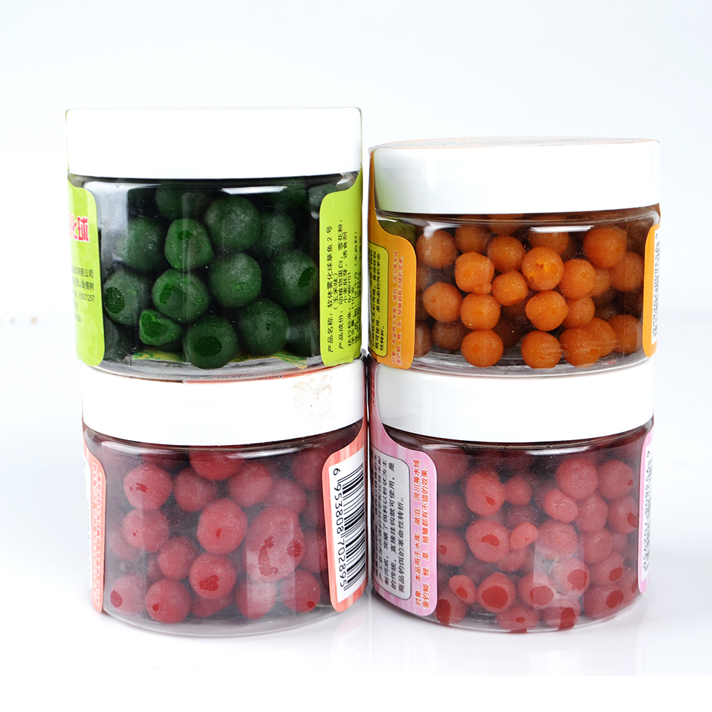 1Box Boilies Carp Fishing Lure Fishy Strawberry Corn Smell Flavor Feeder Carp Bait Carp Fishing Accessories