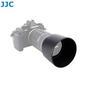 Image 3 - JJC parasol de objetivo 58mm para Olympus M.ZUIKO DIGITAL ED 75 300mm f/4,8 6,7 II lente sustituye a LH 61E