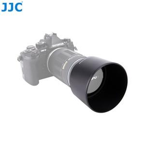 Image 3 - JJC pare soleil 58mm pour Olympus M. ZUIKO DIGITAL ED 75 300mm f/4.8 6.7 II objectif remplace LH 61E