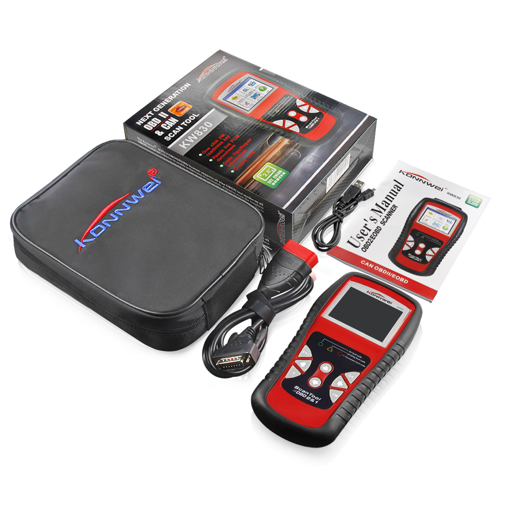 Image 5 - KONNWEI KW830 OBD2 ODB2 Automotive Scanner for Car Diagnosis Universal Auto Fault Error Code Reader ODB2 Car Diagnostic Scanner