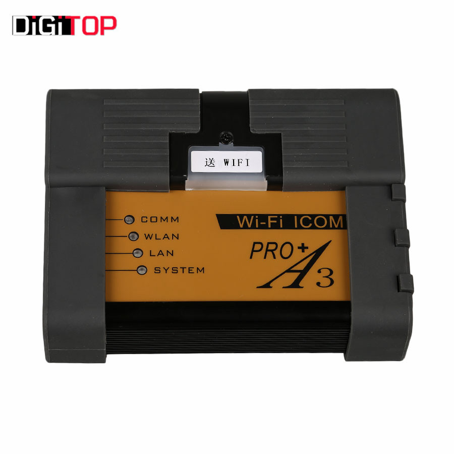 For BMW ICOM A3+B+C+D Professional Diagnostic Tool Hardware V1.40 with Free Wifi Function