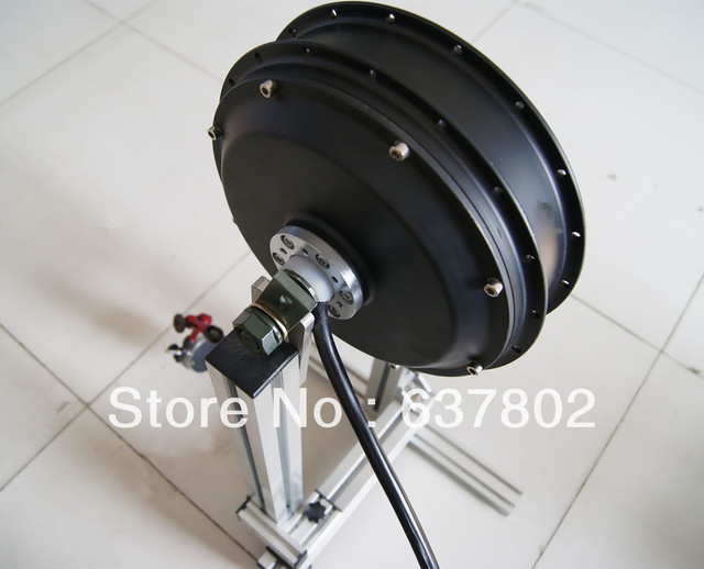 70 100kph 3000w Electric Bike Motor 3kw Electric Hub Motor