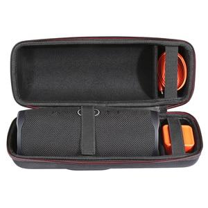 Image 3 - 2 in 1 하드에 바 지퍼 운반 상자 가방 + jbl 충전 4 블루투스 스피커에 대 한 부드러운 실리콘 케이스 커버 jbl 충전 4 열