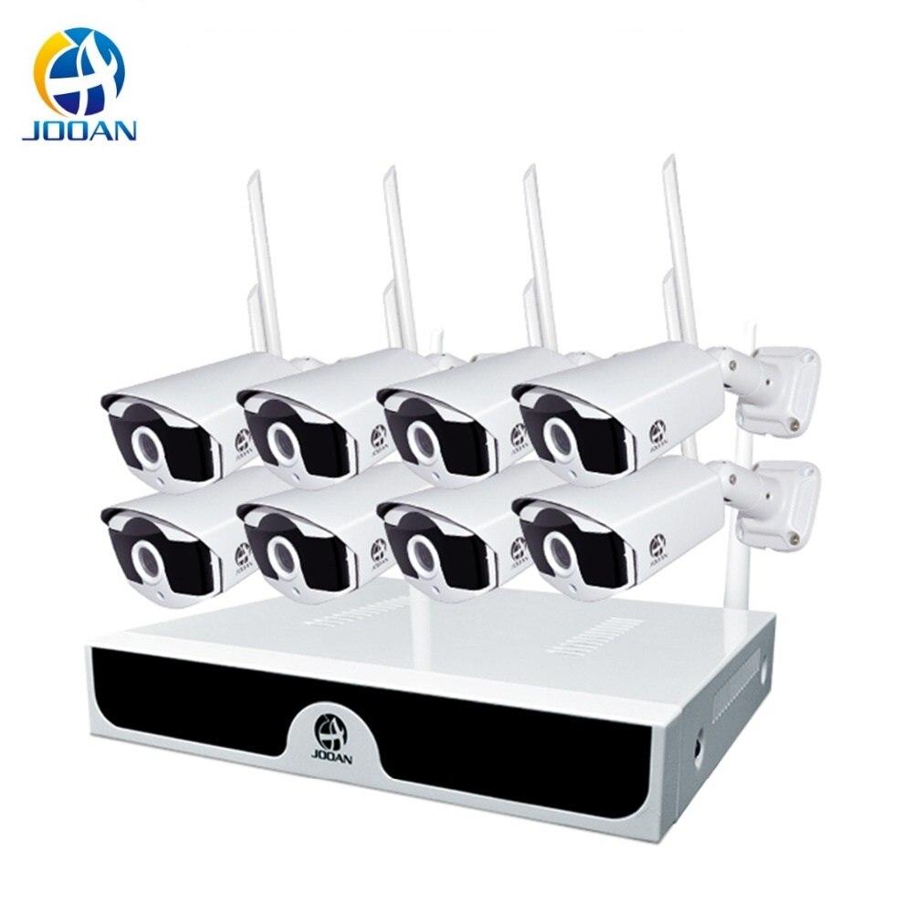 Caméra de sécurité Système 8CH système cctv Sans Fil 1080 P NVR 2.0MP caméra extérieure Wifi NVR caméra de sécurité Nuit système de visionnage Kit