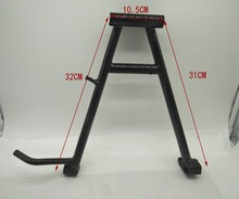 A66 For GN122 Motorcycle Iron Center Main Stand Bracket  Suzuki Support Bipod Legs Centerstand Parking