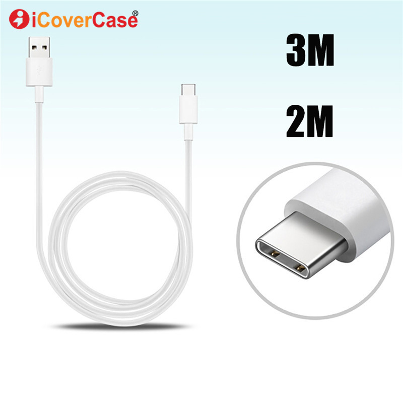 3M 1 2 5 Meter Type C Cable For LG V40 V35 ThinQ Candy G7 Fit One Q Stylo 4 Stylus Mobile Phone USB C Charger Line Charging Cabo